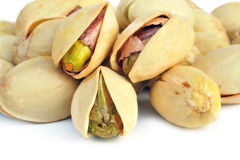 Salted pistachio nuts Stock Photo