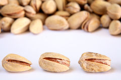 Salted pistachio nuts Stock Image