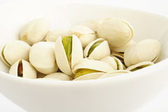 Salted pistachio nuts Royalty Free Stock Photos