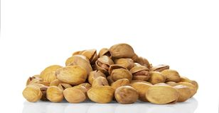 Salted pistachio nuts Royalty Free Stock Photo