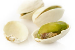 Salted pistachio nuts Stock Images