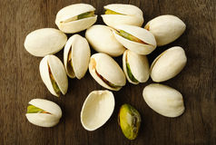 Salted pistachio nuts Stock Photography
