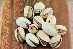 Salted Pistachios Stock Photo