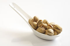 Salted Pistachios Stock Photos