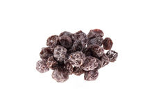 Salted plum Royalty Free Stock Image