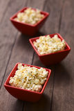Salted Popcorn Royalty Free Stock Photography