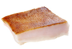 Salted pork fat Stock Photos