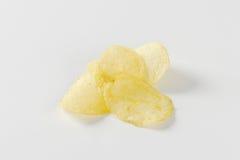 Salted potato chips Stock Photo