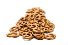 Salted pretzel Stock Photo