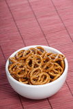 Salted Pretzel Snacks Royalty Free Stock Photo