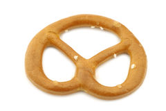 Salted pretzel Royalty Free Stock Image