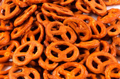 Salted pretzels Royalty Free Stock Images
