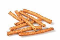 Salted pretzels Royalty Free Stock Photos