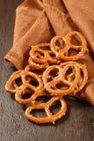 Salted pretzels Stock Photos