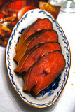 Salted red fish Stock Photography