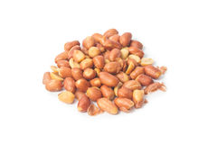 Salted red skin peanuts Stock Photography