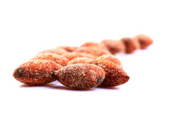 Salted roasted almond Stock Photo