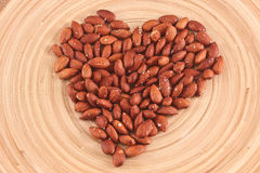 Salted Roasted Almonds Nuts Royalty Free Stock Photos