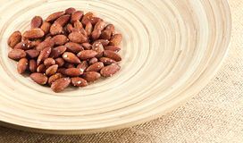 Salted Roasted Almonds Nuts Royalty Free Stock Images