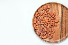 Salted & roasted almonds Royalty Free Stock Photos