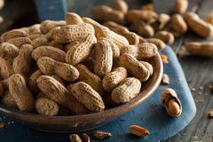 Salted Roasted Shelled Peanuts Royalty Free Stock Photo