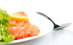 Salted salmon Royalty Free Stock Image