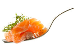 Salted salmon Royalty Free Stock Photo