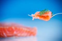 Salted salmon Stock Photos