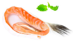 Salted Salmon Trimmings Stock Image