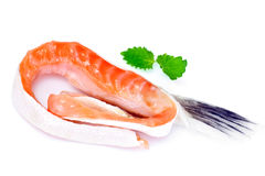 Salted Salmon Trimmings Stock Photo