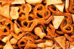 Salted snacks Stock Photos