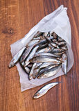 Salted spat fish Royalty Free Stock Photography