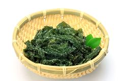 Salted wakame Stock Photography