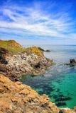 Saltee wyspy krajobraz Zdjęcia Royalty Free