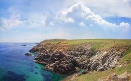 Saltee wyspy krajobraz Zdjęcia Stock