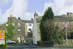 Salterforth é uma vila dentro da cidade de Pendle em Lancashire Imagem de Stock