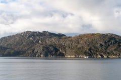 Saltfjorden near the Norwegian city of Bodo