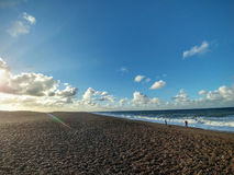 Salthouse beach in   Norfolk Stock Photo