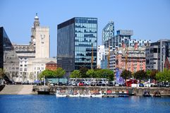 Free Salthouse Dock, Liverpool. Stock Image - 57027531