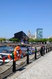 Salthouse-Dock, Liverpool lizenzfreie stockfotos