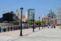Salthouse Dock, Liverpool. Royalty Free Stock Images