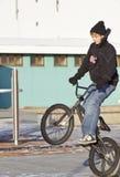 Salti la bici Fotografia Stock
