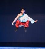 Salti nella magia aero-- del ballo classico di Liang-cinese di mA Fotografia Stock Libera da Diritti
