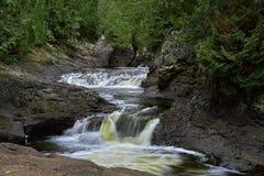 Salti in serie, parco di stato della cascata, mn fotografie stock