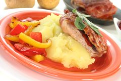 Saltimbocca Royalty Free Stock Photography