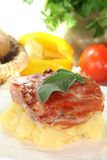 Saltimbocca Stock Photo