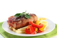 Saltimbocca Royalty Free Stock Photos