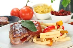 Saltimbocca Royalty Free Stock Photo