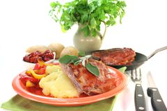Saltimbocca Royalty Free Stock Images