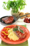 Saltimbocca alla Romana Royalty Free Stock Photography